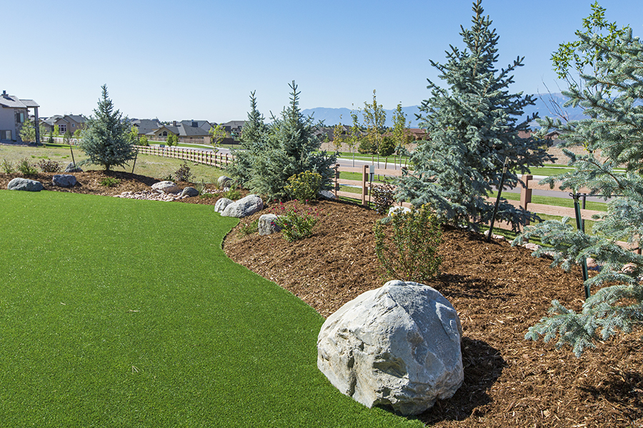 Landscaping with Artificial turf